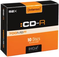 Intenso CD-R 700MB 10er Slimcase