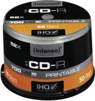 Intenso CD-R 700MB 50er Spindel Printable