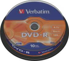 Verbatim DVD-R 4,7GB 16X 10er SP