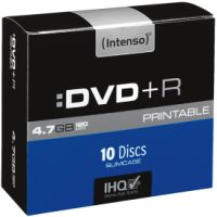 Intenso DVD+R 4,7GB 10er Slimcase Printable