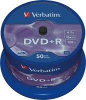 Verbatim DVD+R 4,7GB 16X 50er SP