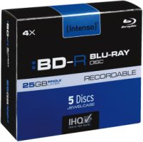 Intenso BD-R 25GB 4X 5er JC