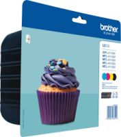 Brother LC-123VALBPDR Valuepack 600 Seiten