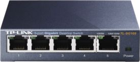 TP-Link TL-SG105 5-Port-Gigabit-Switch