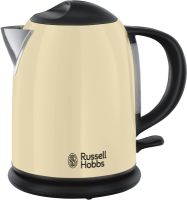 Russell Hobbs Colours Plus+ Classic Cream Kompakt-Wasserkocher