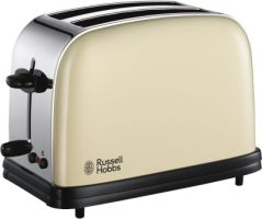 Russell Hobbs Colours Plus+ Classic Cream Toaster
