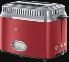 Russell Hobbs Retro Ribbon Red Kompakt-Toaster