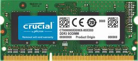 Crucial 8GB DDR3 1600 SODIMM (PC3L-12800) Notebook