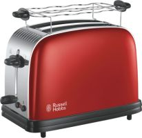 Russell Hobbs Colours Plus+ Flame Red Toaster