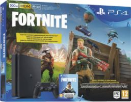 Sony PlayStation 4 500 GB Fortnite Royal Bomber Pack (Voucher)