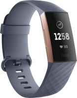 fitBit Charge 3, blaugraues Armband