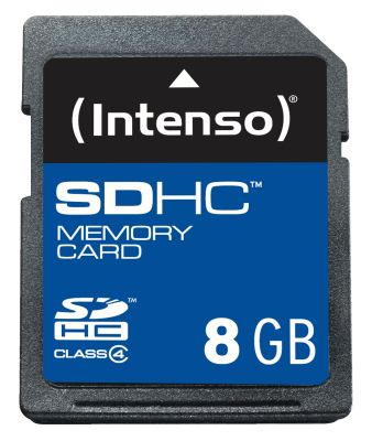 Intenso SD Card 8GB Class 4_0