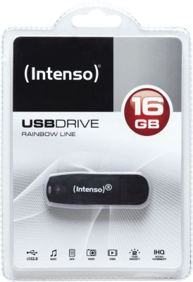 Intenso Rainbow Line 16GB USB Drive 2.0_0