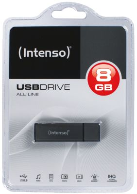 Intenso AluLine USB Drive 8GB_0