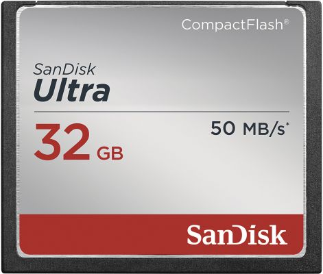 Sandisk Ultra CompactFlash 32GB_0
