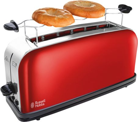 Russell Hobbs Colours Flame Red Langschlitz-Toaster_0