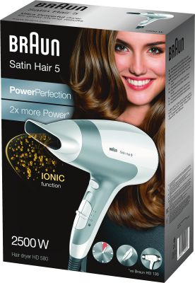 Braun Personal Care HD 580 Satin Hair Power Perfection solo_0