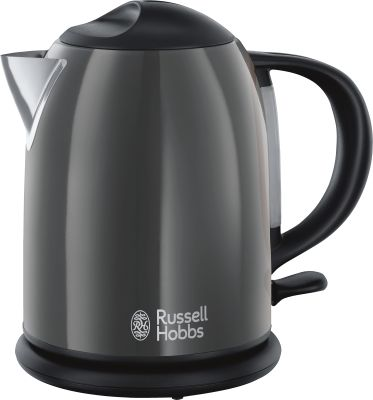 Russell Hobbs Colours Plus+ Storm Grey Kompakt-Wasserkocher_0