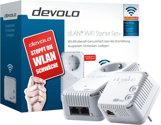 Devolo dLAN WiFi Starter Set+_0