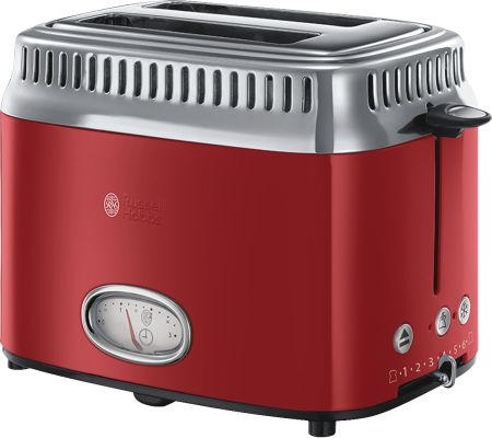 Russell Hobbs Retro Ribbon Red Kompakt-Toaster_0