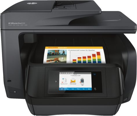 Hewlett Packard OfficeJet Pro 8725 e-All-in-One_0
